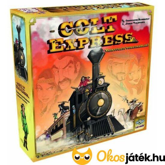 Colt Express év játéka 2015-ben - szuper társasjáték családdal vagy barátokkal (GE)