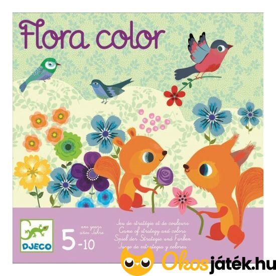Flora Color Djeco virágos gondolkodó társasjáték lányoknak - DJ8453 (BO)