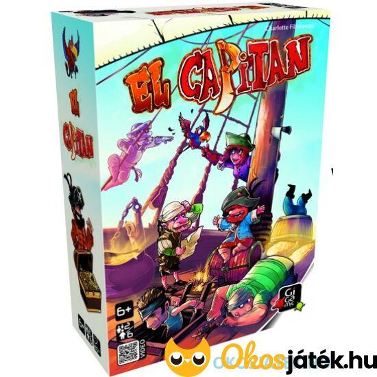 """El Capitan kalózos társasjáték 6 éves kortól (GE) """"Utolsó darabok"""""""