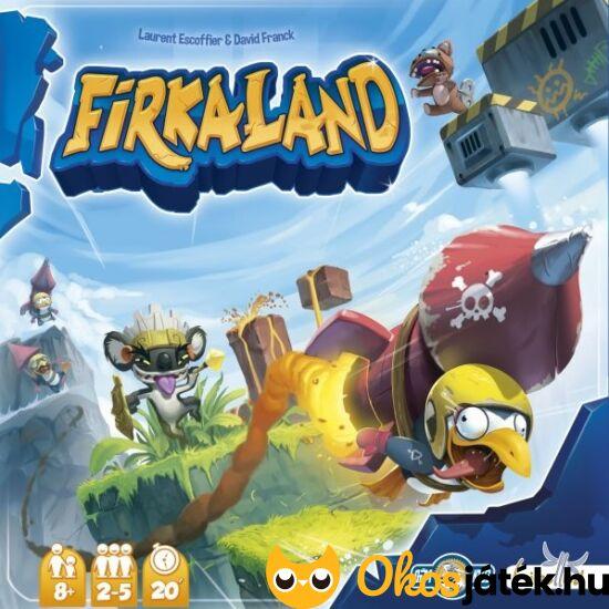 """Firkaland ügyességi társasjáték (GE) """"Utolsó darabok"""""""