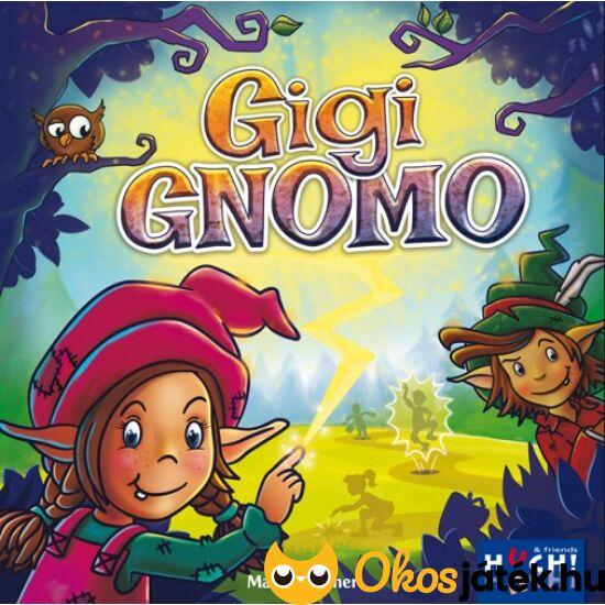 """Gigi gnomo, társasjáték gyerekeknek (GE) """"Utolsó darabok"""""""