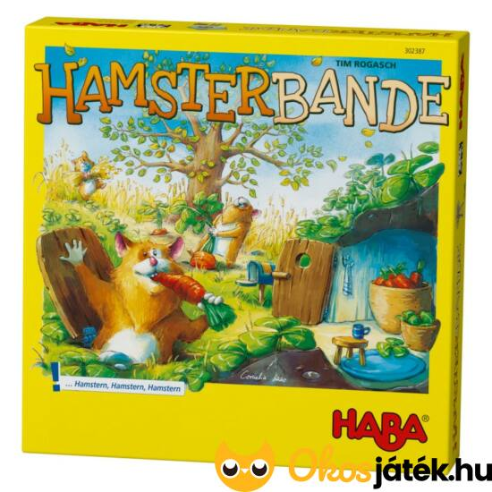 Hamsterbande társasjáték - Hörcsögbanda Haba (HA)