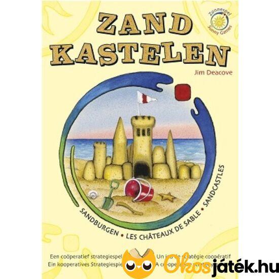 """Homokvár kooperatív társasjáték, együttműködős gyerekjáték - Sandcastles (KO) """"Utolsó darabok"""""""