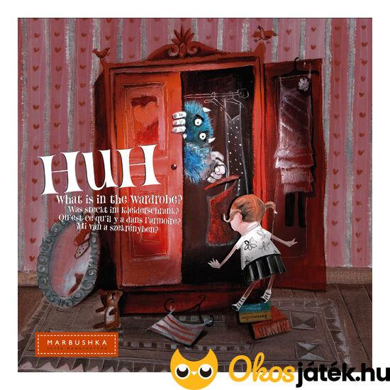 Huh Mi van a szekrényben? Marbushka memória társasjáték (MA)