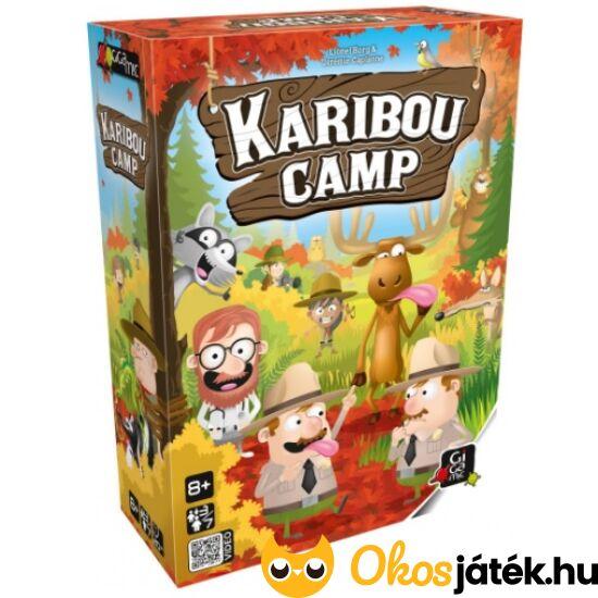 """Karibou Camp társasjáték (GE) """"Utolsó darabok"""""""