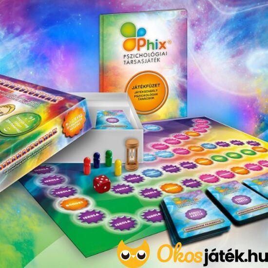 Phix pszichológiai társasjáték kiskamaszoknak 9 éves kortól