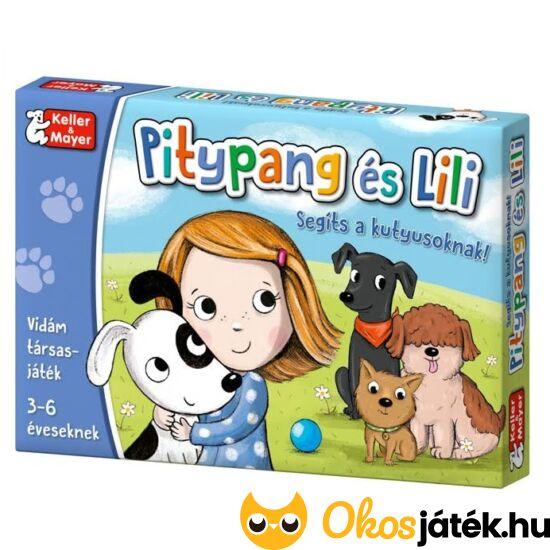 Pitypang és Lili társasjáték - Keller & Mayer (KM-15)