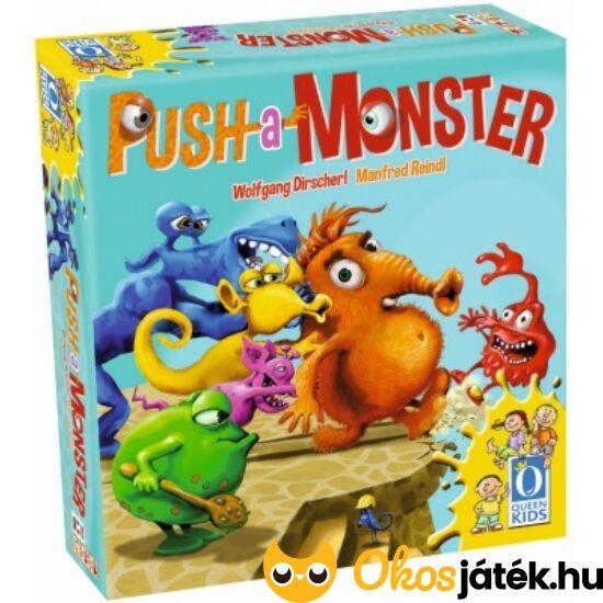 """Push a Monster - """"lökött szörnyek"""", díjnyertes társasjáték gyerekeknek (PI)"""