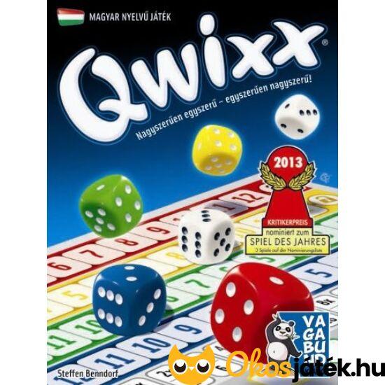 Qwixx játék - kockajáték, társasjáték (GA)