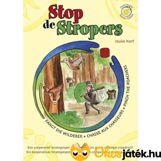 """Állítsd meg az orvvadászokat! - Stop de stropers társasjáték (KO) """"Utolsó darabok"""""""