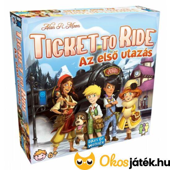 Ticket to ride gyerekeknek- Az első utazás (GE)