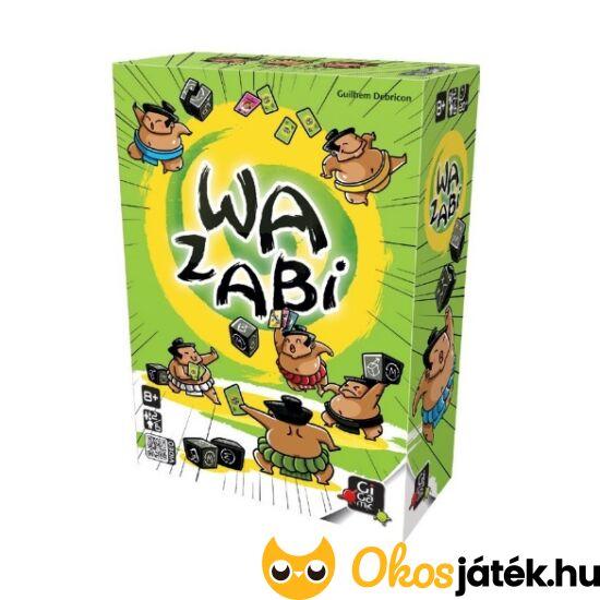 Wazabi társasjáték, kártyajáték - Gigamic (GE)
