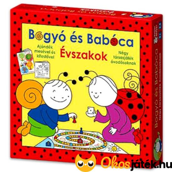 Bogyó és Babóca évszakok társasjáték - Keller Mayer (KM)