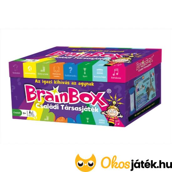 Brainbox családi, nagy társasjáték - KE 936981