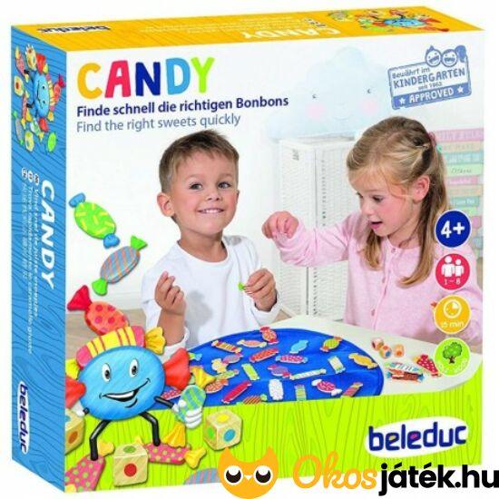 Candy (cukorkák) gyorsasági-megfigyelős társasjáték - HO 22461