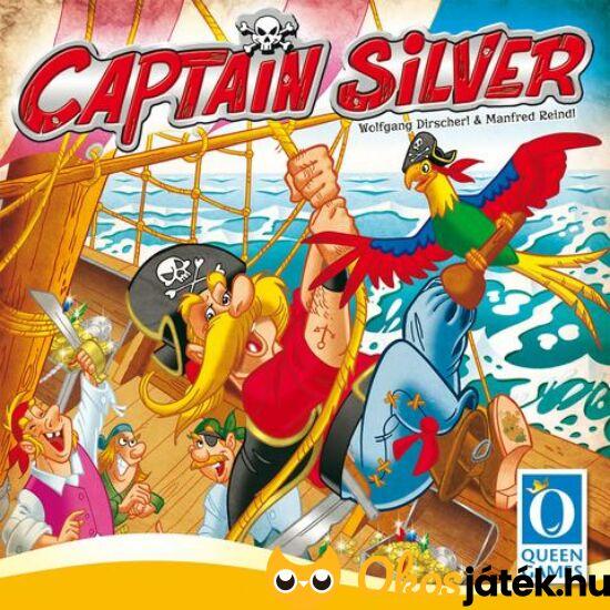 """Captain Silver társasjáték (PI) """"Utolsó darabok"""""""