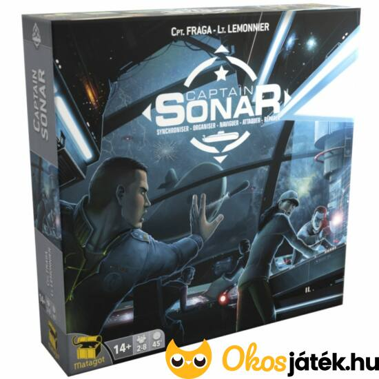 Captain Sonar - tengeralattjárós izgalmas taktikai szerepjáték (GE)