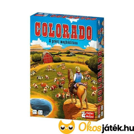 """Colorado társasjáték (KM) """"Utolsó darabok"""""""