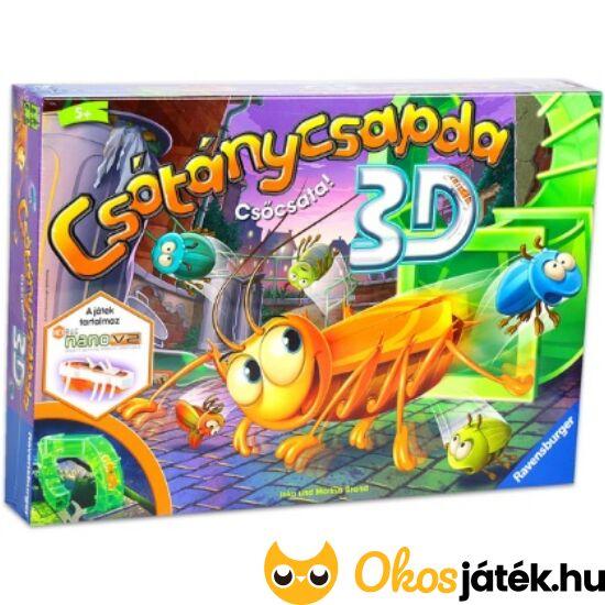 Csótánycsapda Csőcsata 3D társasjáték - Ravensburger 84421 (RE)