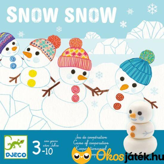 Snow Snow - hóemberes kooperatív társasjáték - DJ 8492