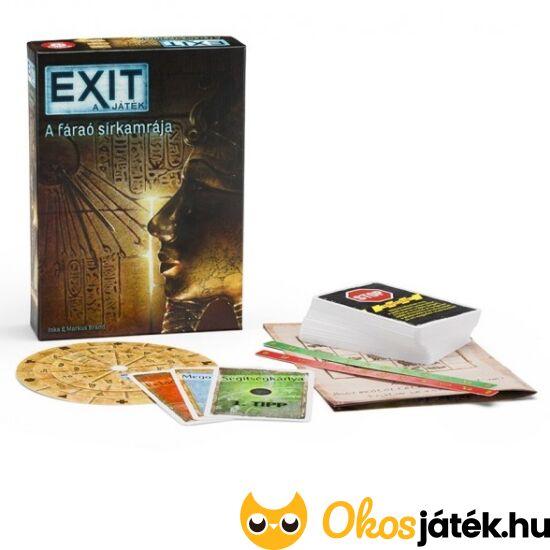 """EXIT 3 - A fáraó sírkamrája - logikai, """"kijutós"""" játék (PI)"""