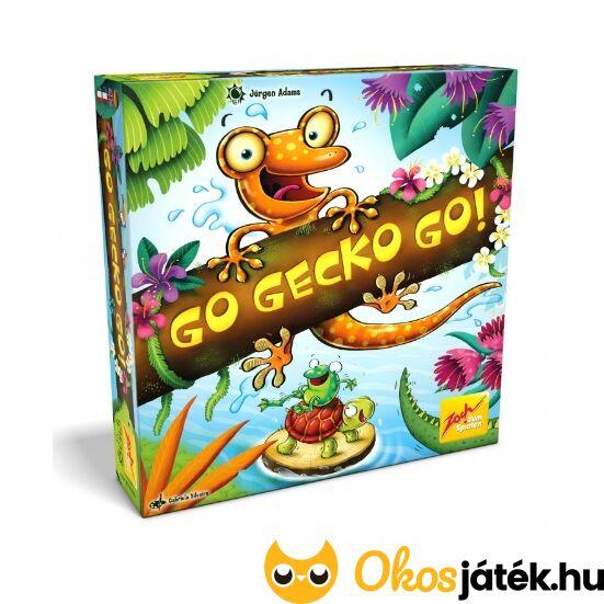 Go Gecko go! társasjáték