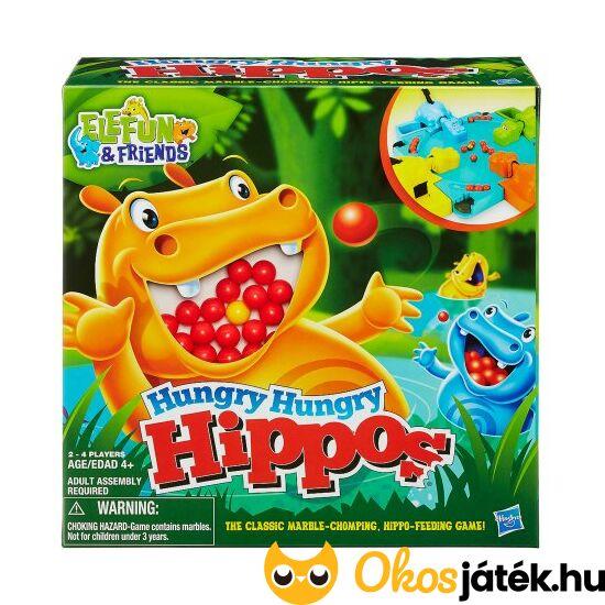Hungry Hippos - Éhes vízilovak társasjáték (MH)