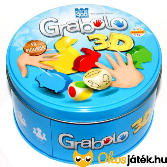 "Grabolo 3D - Új, ""3 dimenziós"" Grabolo, fa figurákkal (KE)"