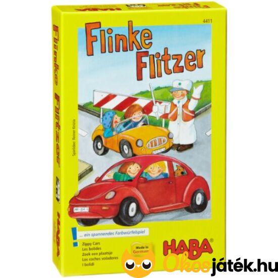 """Fürge autók - első társasjátékom - HABA Flinke Flitzer (HA) """"Utolsó darabok"""""""