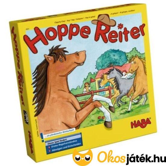 Haba Hoppla Hopp - Hoppe Reiter lovas társasjáték - HA NFT