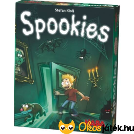 """Spookies - Haba könnyed családi társasjáték (HA) """"Utolsó darabok"""""""