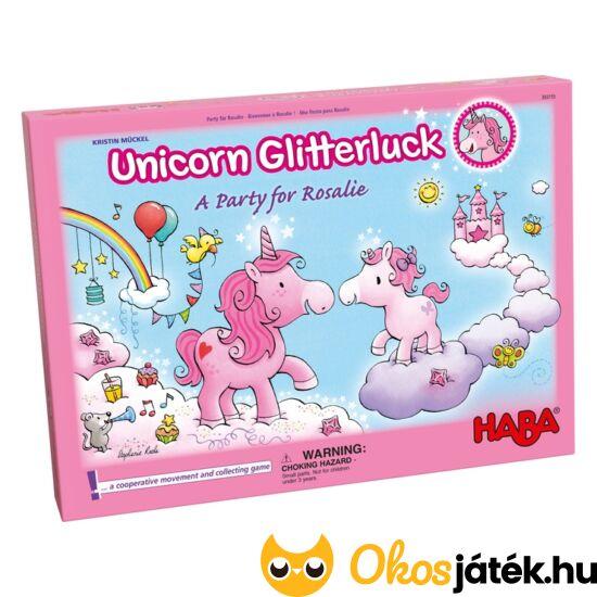 """HABA Egyszarvúak Felhőországban NAGY változat! - Unicorn Glitterluck 302767 (HA) """"utolsó darabok"""""""