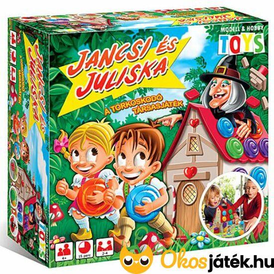 Jancsi és Juliska - a torkoskodó társasjáték (MH)