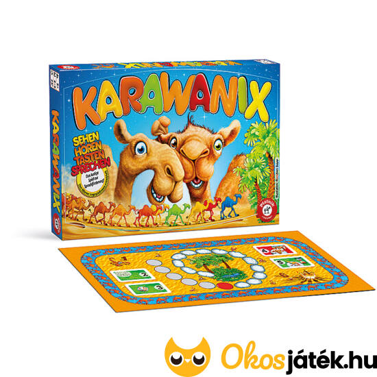 """Karawanix (logopédiai) társasjáték Piatnik (PI) """"utolsó darabok"""""""