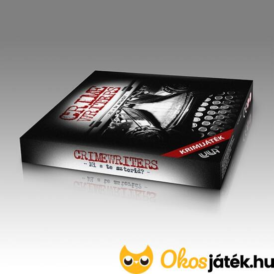 Krimiírók - Crime Writers társasjáték - EY