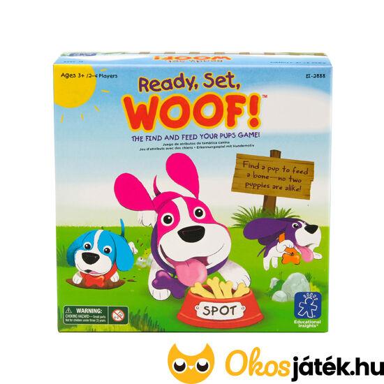 """Ready, set, woof - Kutya egy játék! Gyors, alapos megfigyelés játéka - LR2888 (LR) """"Utolsó darabok"""""""
