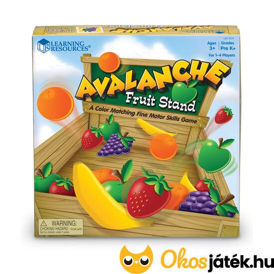 Gyümölcs lavina - ügyes kezű kis gyümölcsárusok játéka - Learning Resources 5070 (LR)