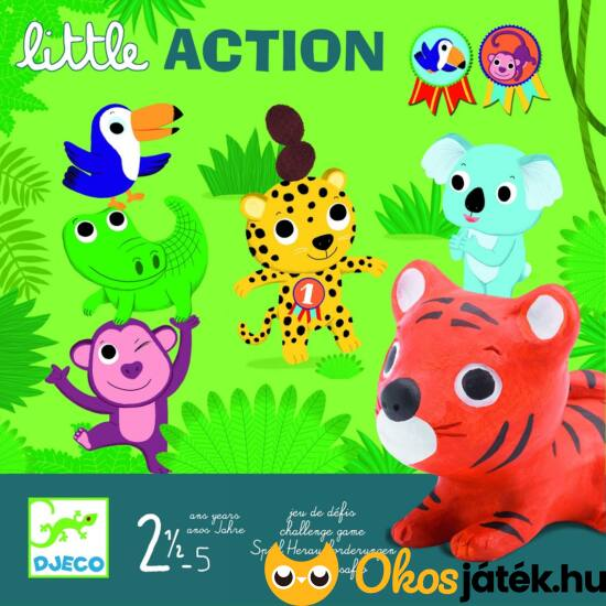 Little Action - Egy kis cselekvés - DJ8557 Djeco (BO)