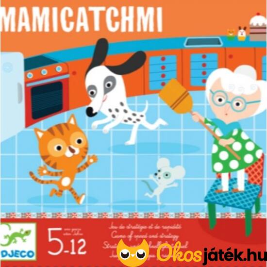 Mami, kapj el! Mamicatchmi társasjáték - Djeco 8438 (BO)