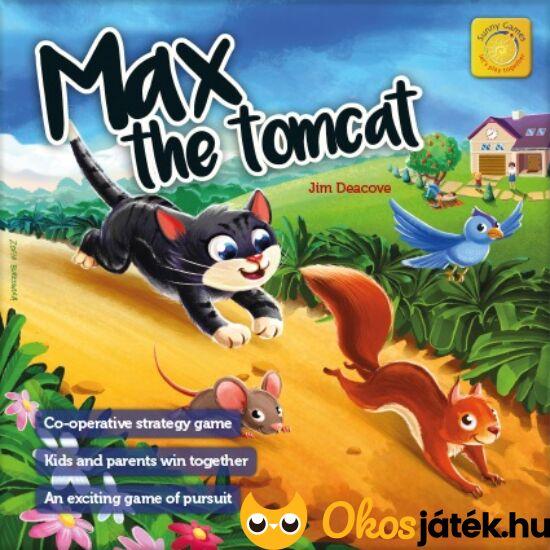 MAX a macska kooperatív társasjáték 4 éveseknek - KO