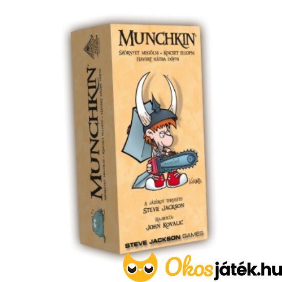 Munchkin alapjáték - humoros társasjáték tiniknek, felnőtteknek (DV)