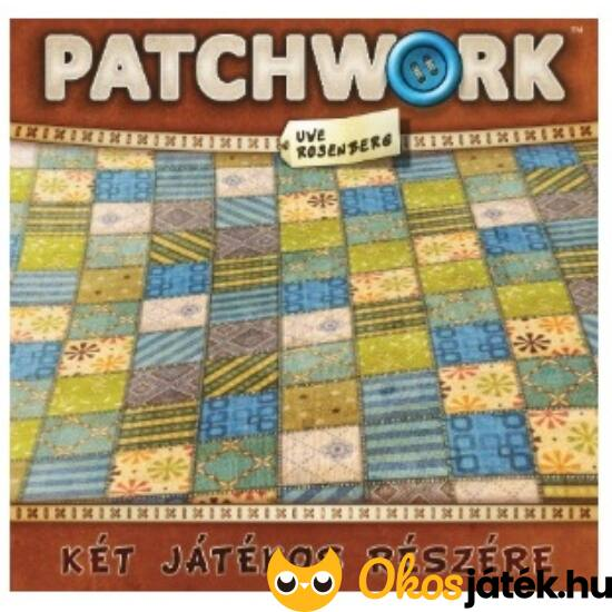Patchwork társasjáték - 2 személyes társasjáték, magyar kiadás (GA)