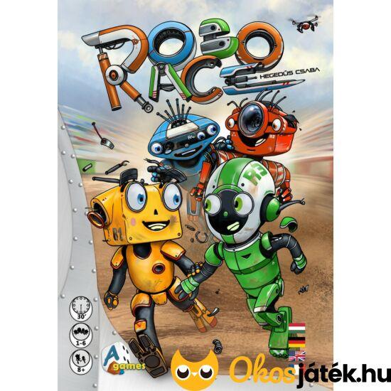 """Robo Race, robotos, izgalmas, gondolkodtató társasjáték - A-Games """"Utolsó darabok"""""""