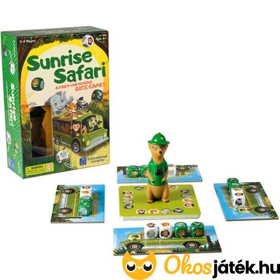 """Safari Sunrise - villámgyors, izgalmas társasjáték LR1759 (LR) """"utolsó darabok"""""""