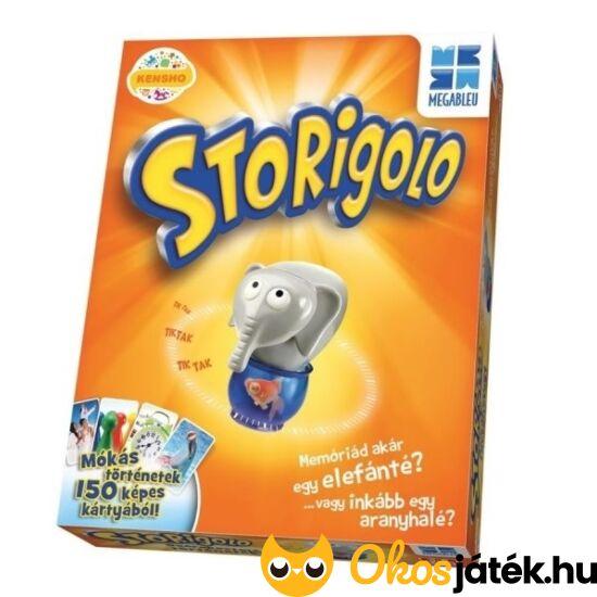 """Storigolo társasjáték - mesélj és memorizálj! (KE) """"utolsó darabok"""""""