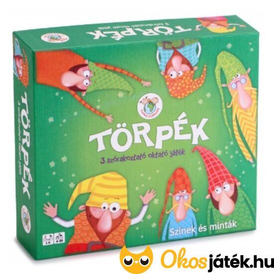 Törpék társasjáték 4-6 éves gyerekeknek (KW)