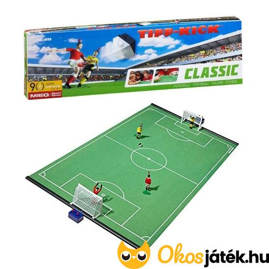 Tipp Kick Classic egyedi asztalifoci játék (80*50cm-es pályával) (TK)