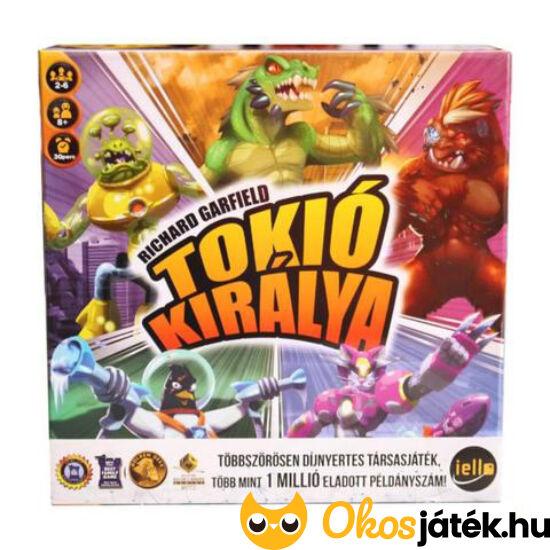 """Tokió királya - King of Tokyo (magyar nyelvű) társasjáték (YO) """"Utolsó darabok"""""""