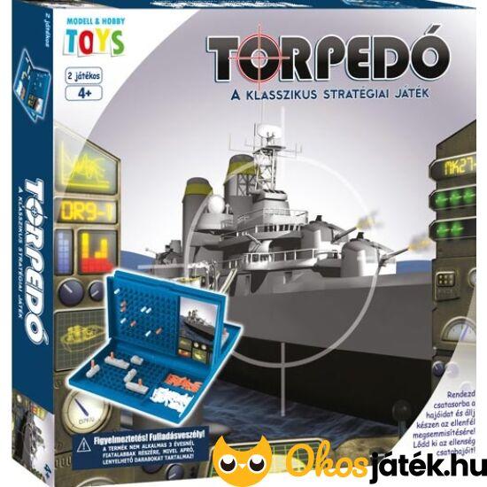 Torpedó klasszik játék - Klasszikus torpedó társasjáték (MH)