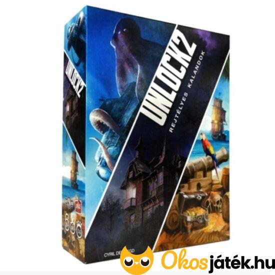 Unlock 2 Rejtélyes kalandok társasjáték